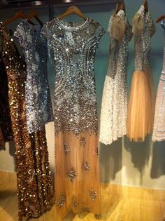 love all these dresses