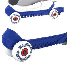 Rollergard Rolling Skate Guard - this might be fun for the kids $59.95 and fits over the kids ice-skates
