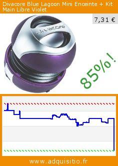 Divacore Blue Lagoon Mini Enceinte + Kit Main Libre Violet (Accessoire). Réduction de 85%! Prix actuel 7,31 €, l'ancien prix était de 49,90 €. http://www.adquisitio.fr/divacore/blue-lagoon-mini-enceinte-0