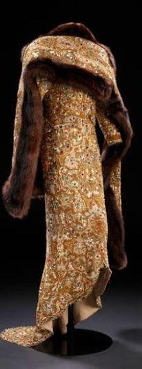 Travis Banton Dress - 1937 - Worn by Marlene Dietrich as 'Maria 'Angel' Barker'  in Angel - @Mlle