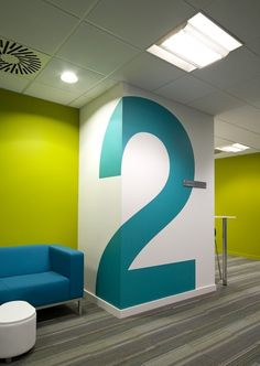 Signage and sign systems - vinyl graphics and block colour for bold impact