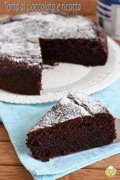 Ricotta, My Favorite Food, Favorite Recipes, Italian Cake, Angel Cake, Chiffon Cake, Breakfast Cake, Chocolate, Cake Cookies