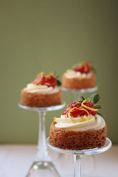 do you need a small cake stand? :)  what a great idea for each place setting