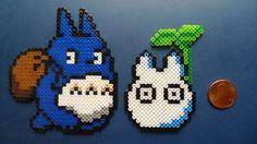 Totoro Perler Sprite/Schlüsselanhänger/Magnet