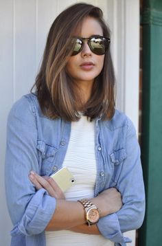 Contemporary LOB (Long Bob) Haircuts 2015 | Fashion                                                                                                                                                                                 More