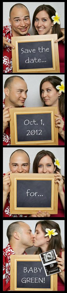 Save the Date Pregnancy Announcement ... how cute is THIS!?!