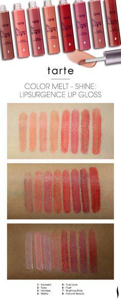 sephora:  SURGE PROTECTOR Lip service never looked so hydrated.     SHOP TARTE LIPSURGENCE LIP GLOSS >