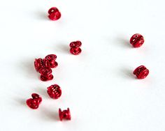 Red Celtic Beads  Red Wire Celtic Spiral Beads 1/4 Pack by Spoon37, £24.50