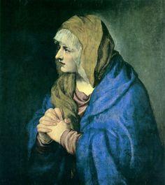 Tiziano Vecellio (1490-1576, Italy) Mater Dolorosa