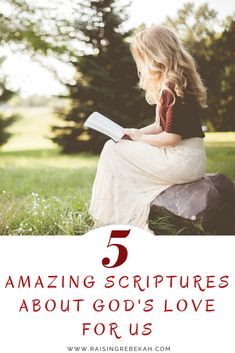 God's love is the most important aspect of a Christian's faith. His love is key to loving ourselves, and loving others, especially when we are all alone. These 5 amazing scriptures emphasize God's love for us all and provides us with the greatest examples of His perfect love.