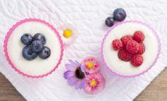 sweet yoghurt with berries by flavourshooting