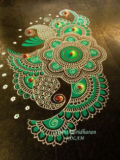 Below we have gathered some of the best Rangoli designs and ideas Diwali and ideas to inspire you. Rangoli designs for Diwali 2017 Rangoli Designs Latest, Rangoli Designs Flower, Latest Rangoli, Colorful Rangoli Designs, Rangoli Designs Diwali, Rangoli Designs Images, Kolam Rangoli, Flower Rangoli, Beautiful Rangoli Designs