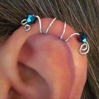 "No Piercing ""Seahorse"" Ear Cuff"