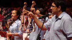 La Orquesta de Instrumentos Reciclados de Cateura, proyecto de Sonidos de la Tierra, Paraguay.