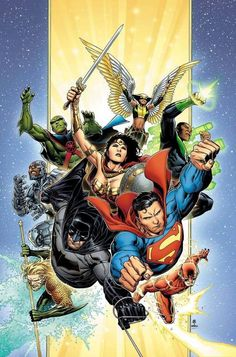 Justice League by Jim Cheung