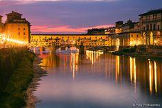 Florence, Italy :: Ponte Vecchio by -yury-, via Flickr