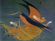 Charley Harper Illustration: Barn Swallow