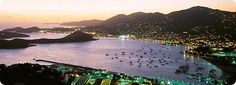 U.S. Virgin Islands:  Each of the three major islands - St. Croix, St. John and St. Thomas - offer distinctly different adventures and all are sure to please. Coral reefs, wildlife and nature preserves, parasailing, windsurfing, golf, and bike tours - U.S. Virgin Islands have it.