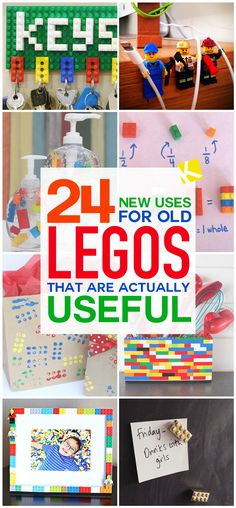24 New Uses for Old LEGOs That Are Actually Useful