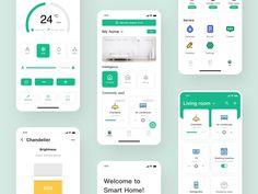 banking layout Smart Home App by Savie Login Page Design, Web Design, Dashboard Design, App Ui Design, Mobile App Design, Interface Design, Flat Design, Design Thinking, Motion Design