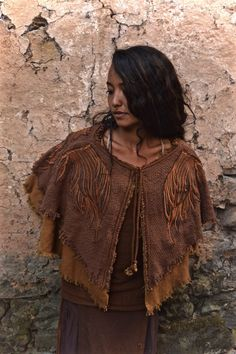 ON Sale  Mayan Eagle Queen Native American style by AnuttaraCrafts