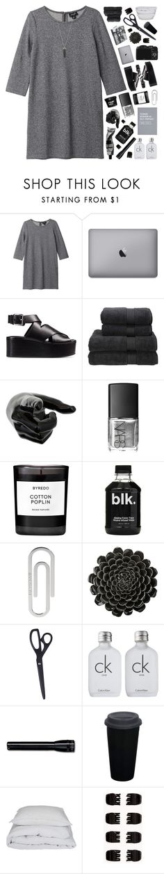 """""""A BEAUTIFUL MESS"""" by emmas-fashion-diary ❤ liked on Polyvore featuring Monki, Alexander Wang, Christy, NARS Cosmetics, CO, Byredo, Bulgari, Aesop, DAY Birger et Mikkelsen and HAY"""