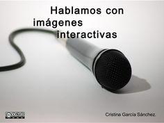 Presentación sobre la utilización de las imágenes interactivas en la enseñanza del español. Thinglink.