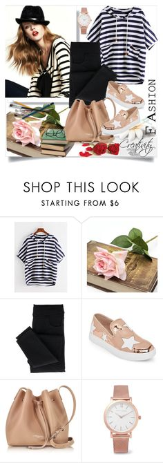 """Hooded T-shirt"" by creativity30 ❤ liked on Polyvore featuring Wild Diva, Lancaster and Larsson & Jennings"
