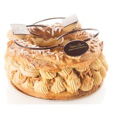 parisbrestred Paris Brest, French Patisserie, Choux Pastry, Peanut Butter, Candy, Cookies, Sweet, Desserts, Food