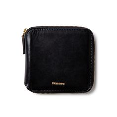 Fennec zipper wallet - Black