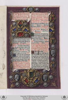 from the Vatican Archives • Inc.Chig.V.4939: Inc.Chig.V.4939 Breviarium Romanum (28 settembre 1481)
