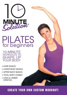 Buy 10 Minute Solution Pilates For Beginners DVD from DVDLand to see for yourself our exception range, prices and service. 10 Minute Solution Pilates For Beginners delivered fast to your home or office. Pilates Workout, Pilates Training, 10 Minute Workout, Ab Workouts, Fitness Exercises, Ab Exercises, Workout Tips, Short Workouts, Workout Plans