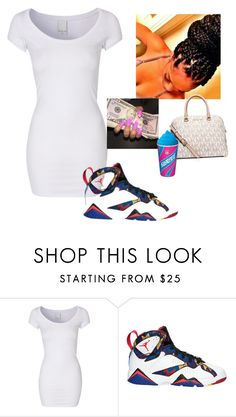 """6/9/16 going to the mall ✨"" by nia-slay ❤ liked on Polyvore featuring VILA and MICHAEL Michael Kors"