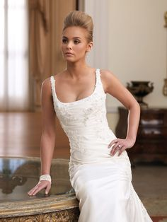 David Tutera for Mon Cheri for every bride at an affordable price | Wedding Dresses|Style #210261 - Ann