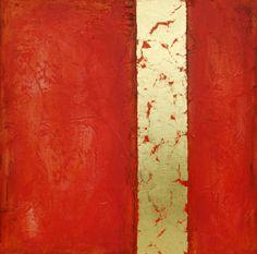Abstract Acrylic Painting Original Fine Art by avaavadonstudio, $125.00