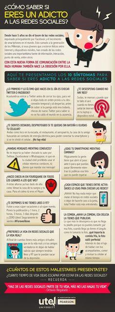 Cómo saber si eres un adicto a las redes sociales [Infografía]. http://www.farmaciafrancesa.com/main.asp?Familia=189
