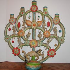 Rare vintage Day of the Dead tree of life!     www.mexicana-nirvana.com