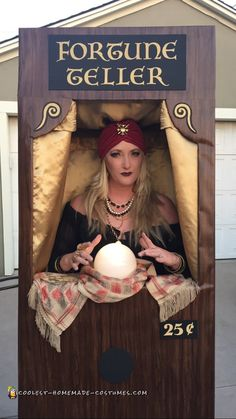 Amazing+Carnival+Fortune+Teller+Machine+DIY+Costume