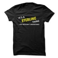 Its a STERLING thing... you wouldnt understand!