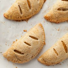 """""""These Sweet Potato Hand Pies are the perfect dessert when you need something that you can eat without utensils or plates. They are a perfect use for any leftover baked sweet potato that you may have on hand."""" - Taylor from Taylor Takes a Taste"""