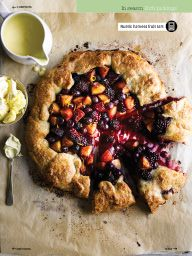 """I saw this in """"Rustic harvest fruit tart"""" in September 2014 New season collection."""