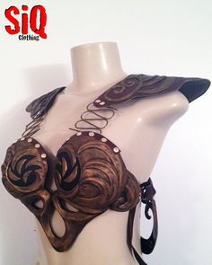 Xena Warrior Princess Costume Armor ONLY by SiQclothing on Etsy