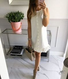 Mint Label, clothes for women who live with passion. Casual Dresses, Casual Outfits, Summer Outfits, Fashion Dresses, Cute Outfits, Short Sleeve Dresses, Summer Dresses, Vestido Casual, Mode Style