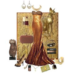 """""""Queen Nefertiti"""" by Hadel on Polyvore"""