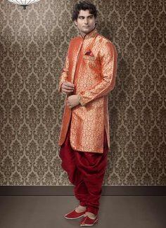 Brocade Indo Western Kurta Pyjama