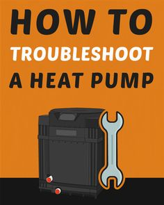 How to Troubleshoot a Pool Heat Pump Refrigeration And Air Conditioning, Air Conditioning System, Hvac Tools, Hvac Filters, Swimming Pool Maintenance, Pool Care, Pool Hacks, Pool Heater, Pool Supplies