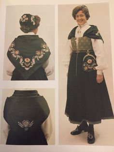 Østfold bunad Folk Costume, Costumes, My Ancestors, Vikings, Scandinavian, Culture, Traditional, Tattoos, Fashion