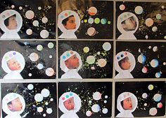 20 Outstanding Outer Space Crafts for Kids to Make and Learn – preschool crafts Space Theme Classroom, Space Theme Preschool, Space Activities, Classroom Crafts, Preschool Activities, Outer Space Crafts, Space Crafts For Kids, Outer Space Theme, Kids Crafts