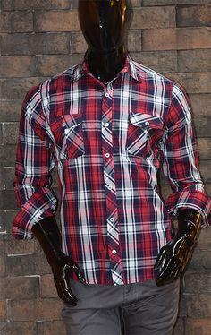 Arma tu Outfit navideño con Barze Jeans y viste como te gusta.! Llegaron los nuevos modelos en camisas #woodcutterBZ / Leñador*