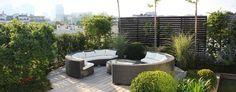 Balcones y terrazas de estilo Moderno por FIORELLINO paysagiste